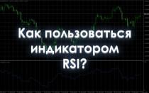 Как пользоваться индикатором Relative Strength Index?