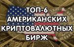 Рейтинг лучших криптобирж США и обзор их характеристик