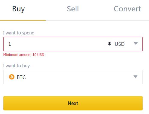 Покупка за доллары