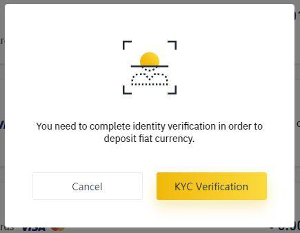 Требование KYC